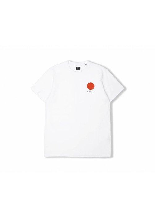 Edwin Jeans Japanse Sun Classic T-Shirt White