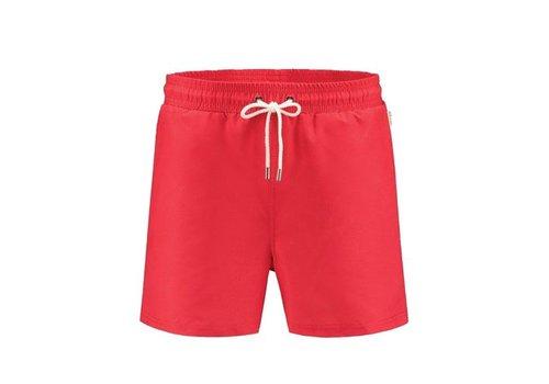 A-dam Mitch  Classic Red Swimshort