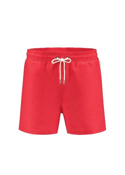 A-dam Mitch  Classic Red Swimshort