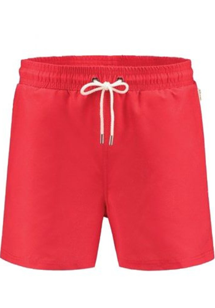 Mitch  Classic Red Swimshort