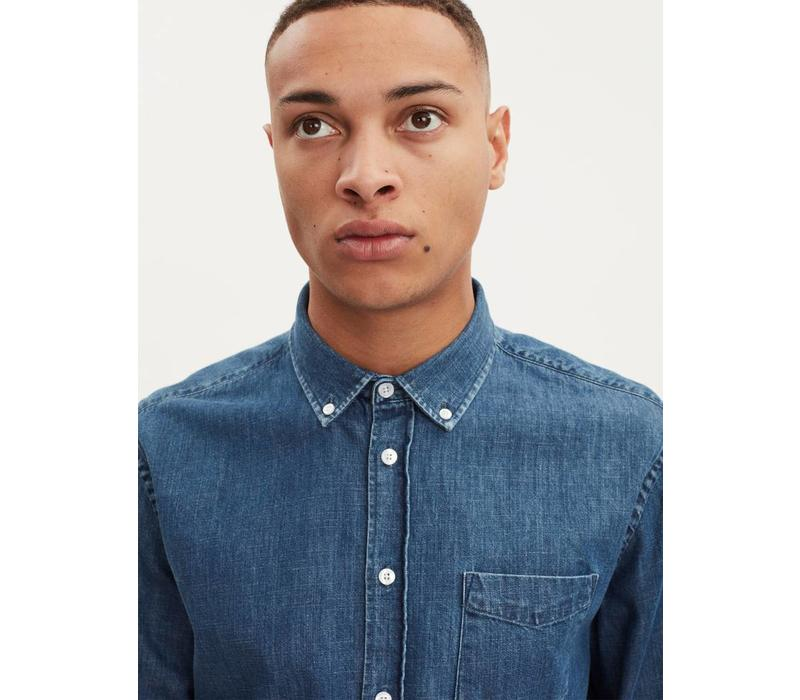 Hunter Premium Cotton Denim Shirt