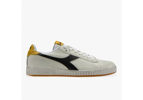Diadora Game L Low Black Yellow Waxed