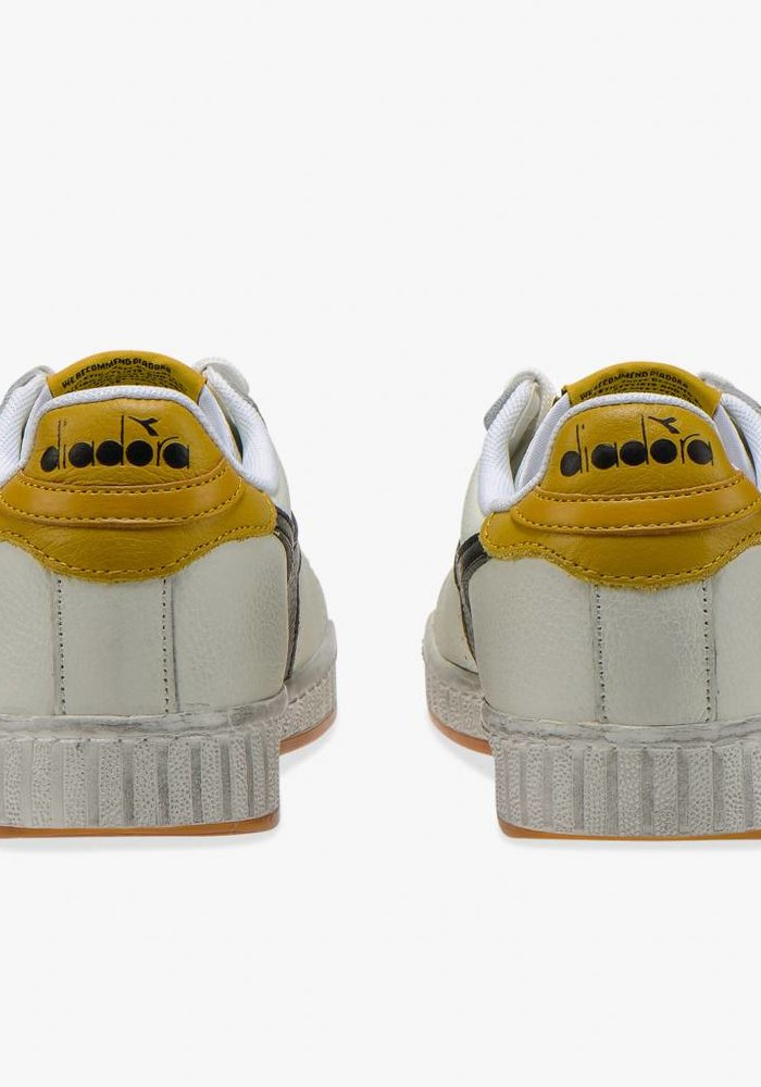 Game L Low Black Yellow Waxed