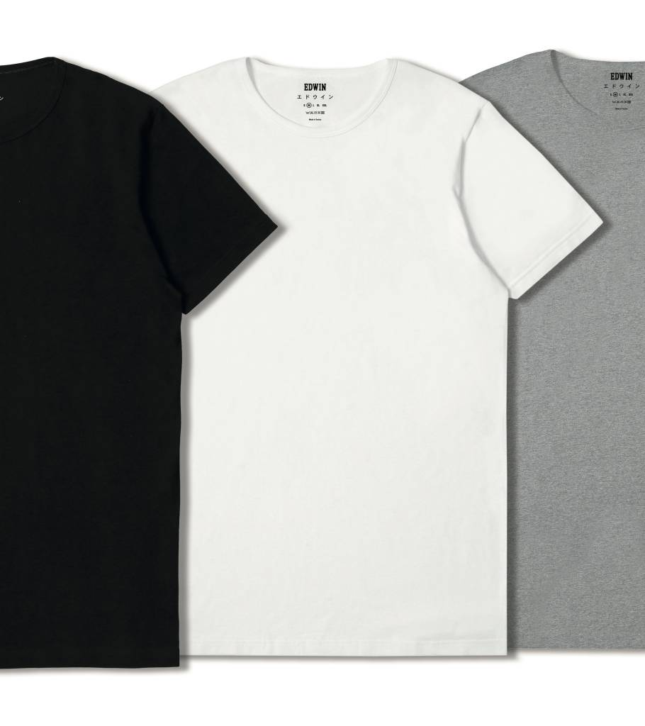 Double Pack SS T-Shirt Crew Neck Black-4