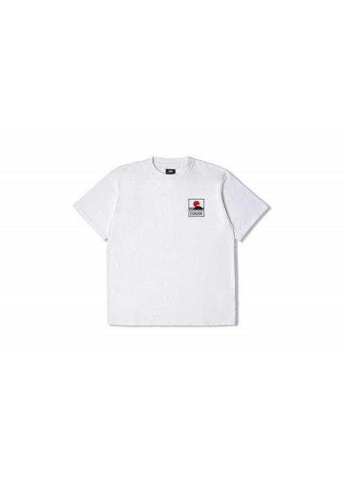 Edwin Jeans Sunset On Fuji T-Shirt White