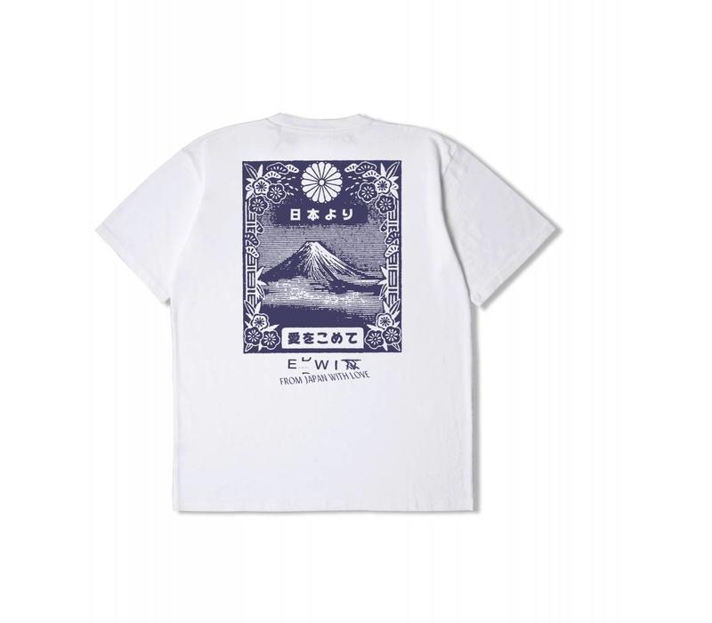 From MT Fuji T-Shirt White