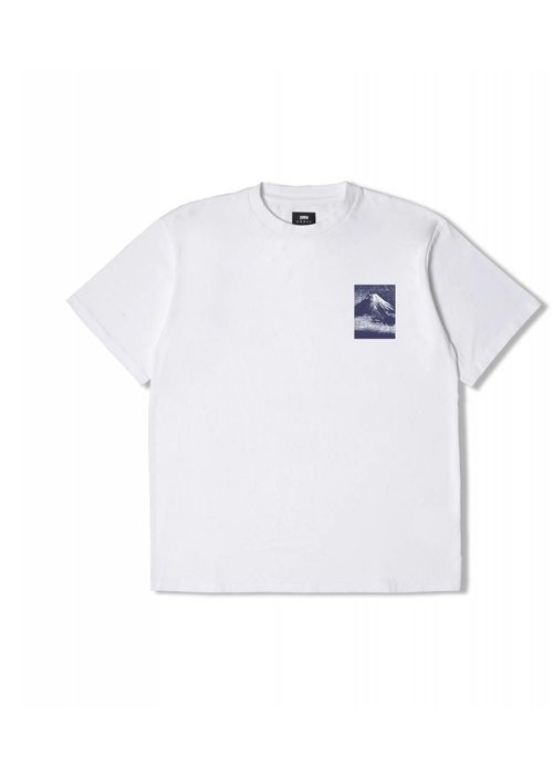 Edwin Jeans From MT Fuji Tshirt White