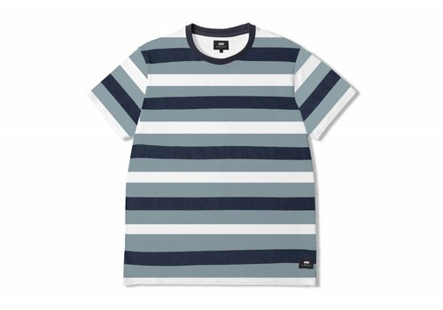 Edwin Jeans George T-shirt Goblin Blue Striped