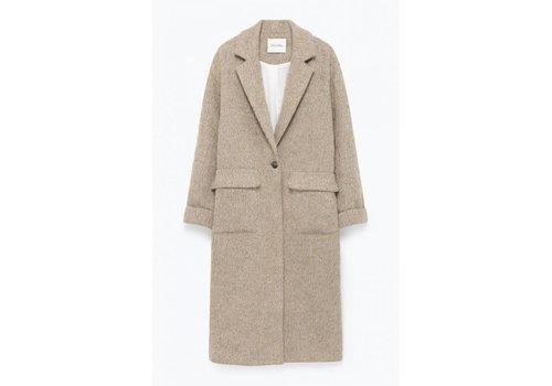 American Vintage Topitown Beige Melange Coat