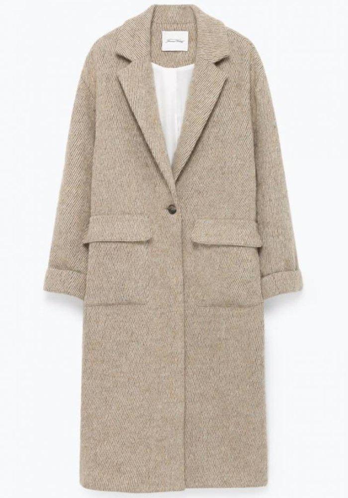 Topitown Beige Melange Coat