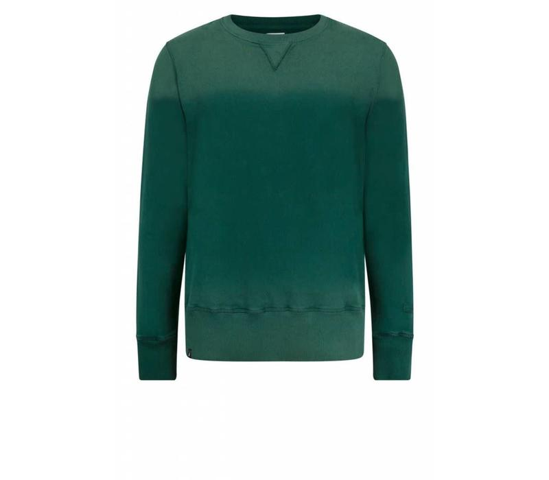 Felpa Sweater Green Washed