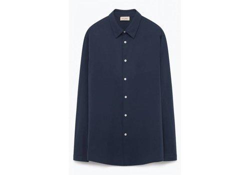 American Vintage Pizabay Sapphire Blue Shirt