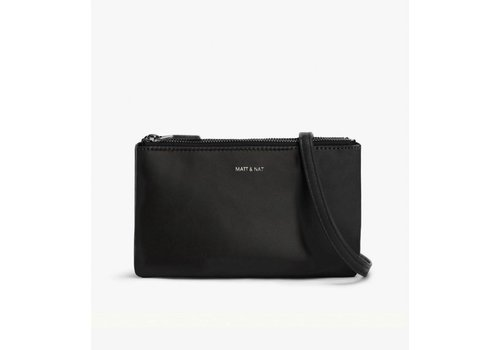 Matt & Nat Triplet Crosbody Bag Black Black One Size