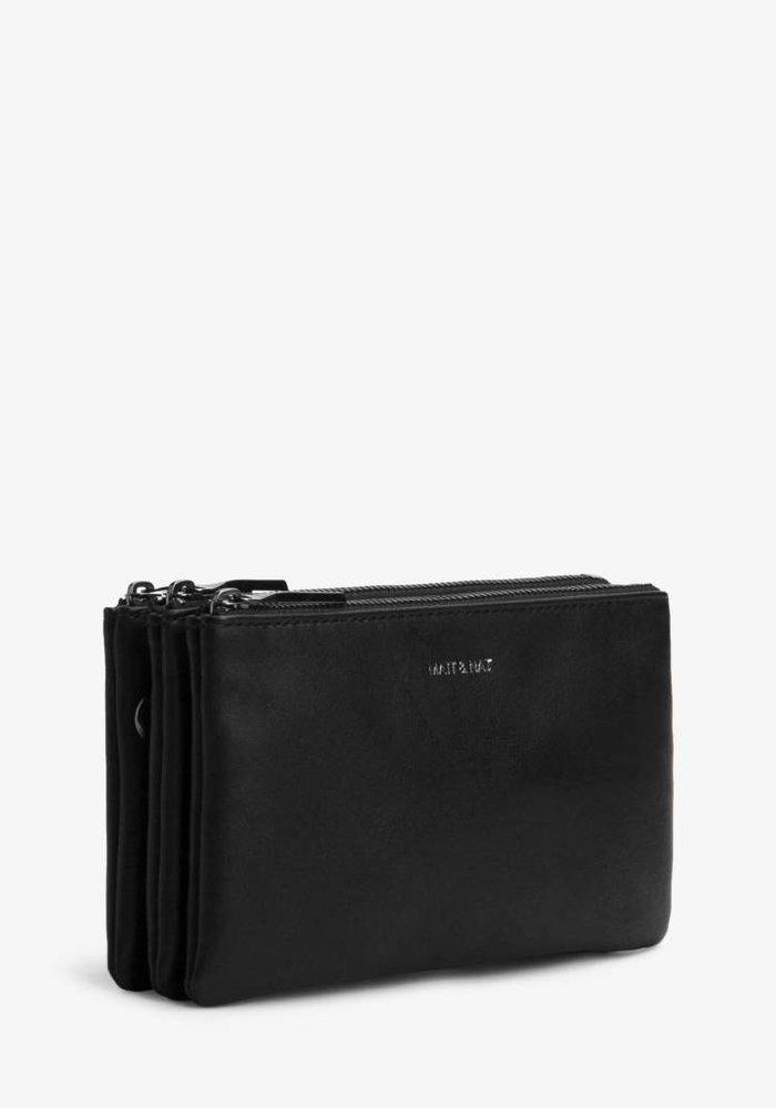 Triplet Crossbody Bag Black