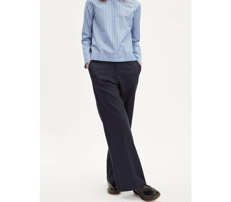 Restricted Wide Trouser Navy
