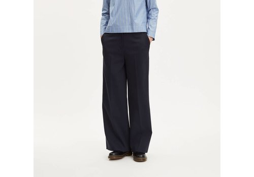 Libertine Libertine Restricted Wide Trouser Navy