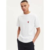 Unisex Cooper Wineheart T-Shirt White