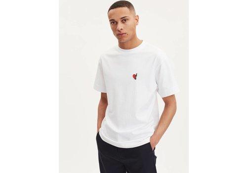 Libertine Libertine Cooper Wineheart T-Shirt White