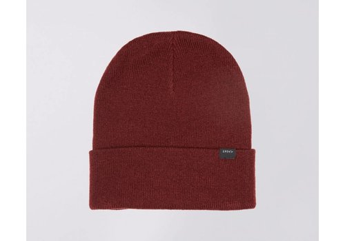 Edwin Jeans Kurt Beanie Oxblood Red