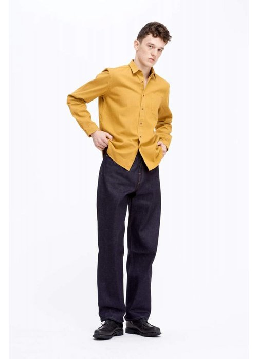 Livid Jeans West Japan Shirt Mustard Yellow