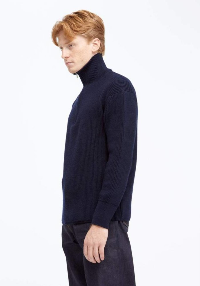 Noel Sailor Heavy Knit Navy
