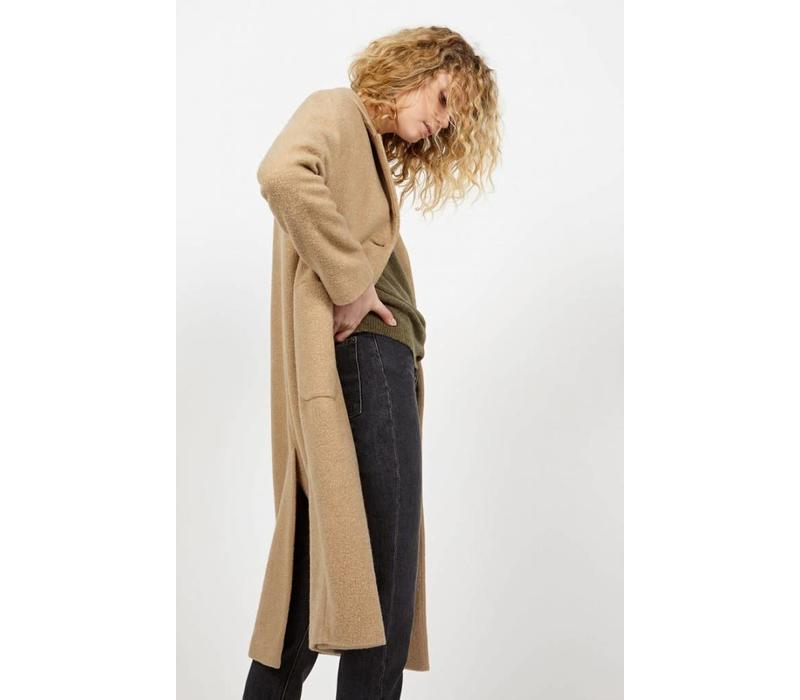 Bebvalley Wool Coat Desert