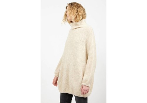 American Vintage Zapitown Oversized Jumper With Turtle-Neck