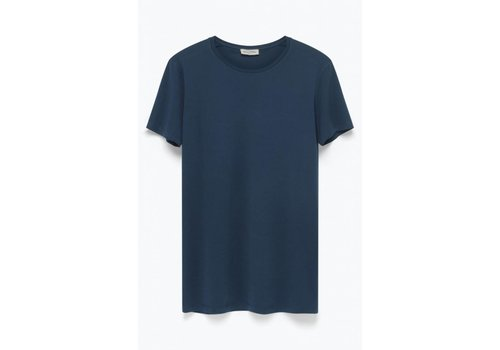 American Vintage Denver Cotton T-shirt Caviar Blue