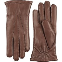 Amelia Chestmut Brown Hairsheep Leather