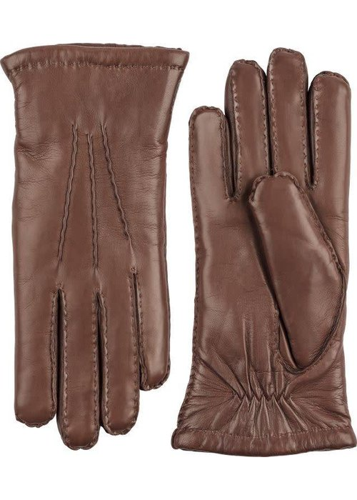 Hestra Gloves Amelia Chestmut Brown Gloves Hairsheep Leather