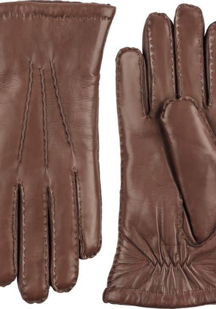 Amelia Chestmut Brown Gloves Hairsheep Leather