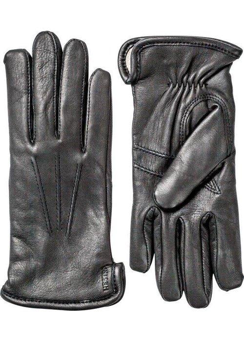 Hestra Gloves Rachel Black Deerskin Leather