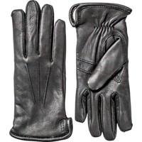 Rachel Gloves Black Deerskin Leather