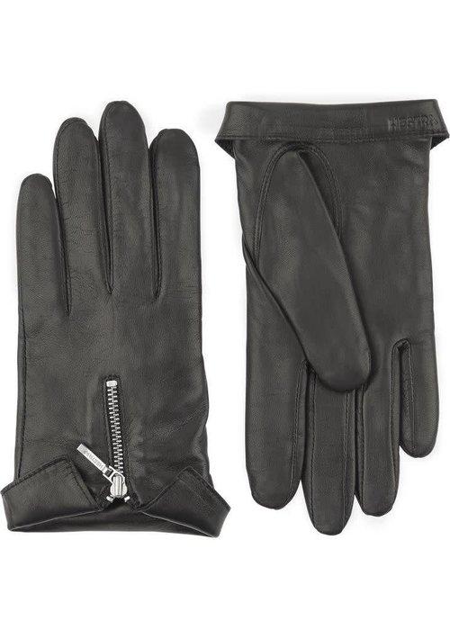 Hestra Gloves Caroline Gloves Black Hairsheep Leather