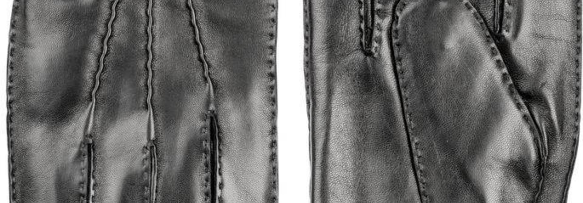 Jake Classic Hairsheep Leather Gloves Black