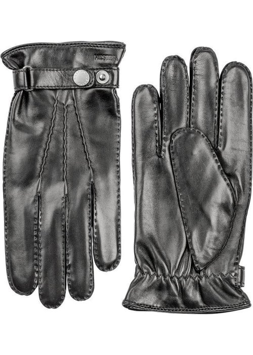 Hestra Gloves Jake Classic Hairsheep Leather Gloves Black