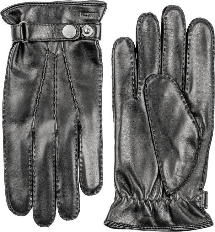 Jake Classic Hairsheep Leather Gloves Black-1