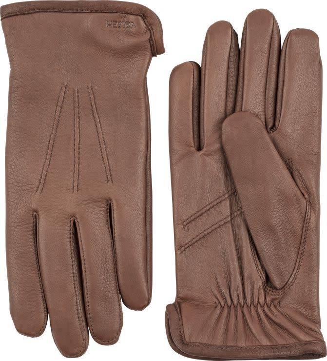 Andrew Deerskin Leather Chocolate Brown-1