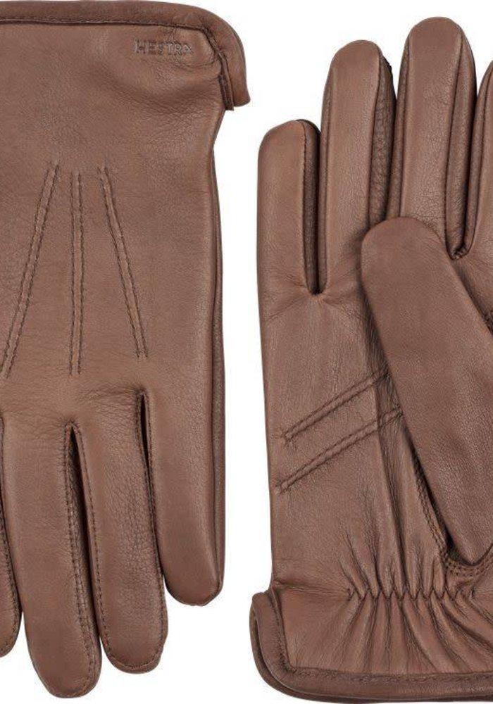 Andrew Deerskin Leather Chocolate Brown