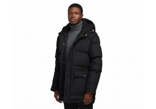 Edwin Jeans Street Puffer Parka Black