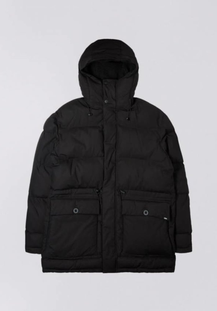 Long Street Puffer Parka Black