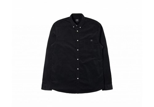 Edwin Jeans Standard Black Baby Cord Shirt