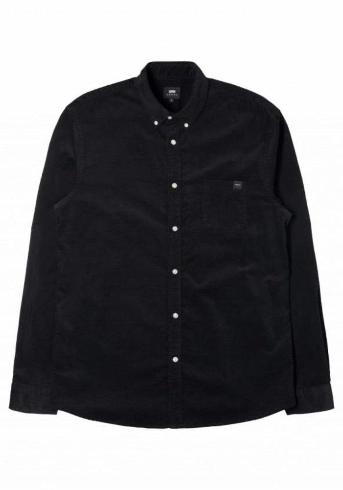 Standard Black Baby Cord Shirt