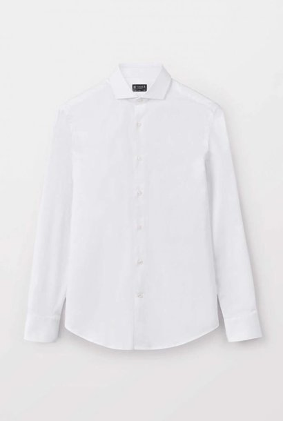 Farrel Smart Shirt Wit