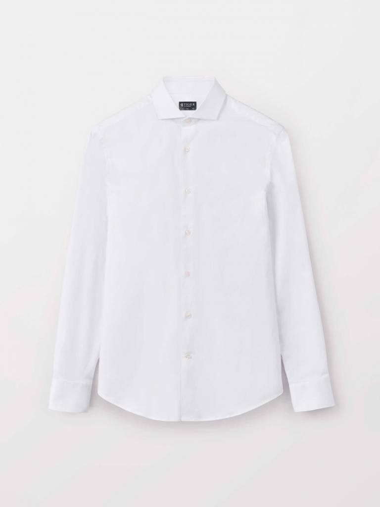 Farrel Dressed Smart Shirt Pure White-1