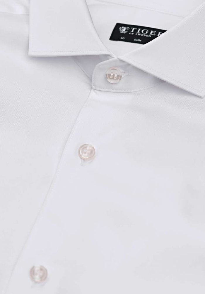 Farrel Dressed Smart Shirt Pure White