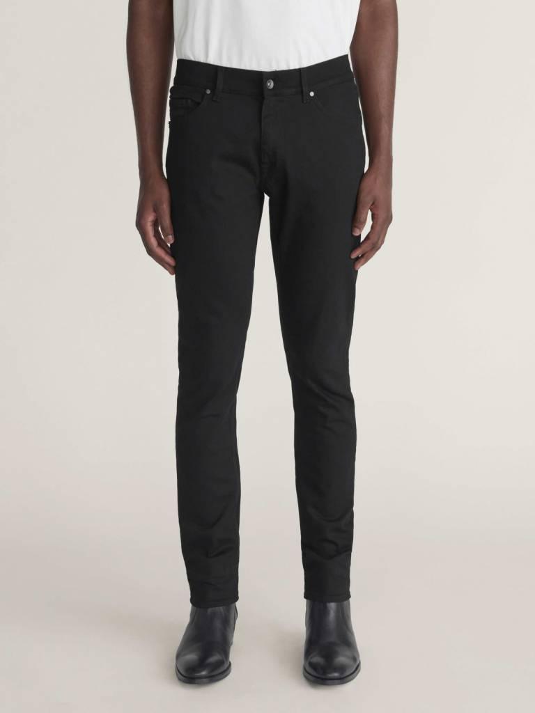 Evolve A Modern Black Slim Fit Jeans-3