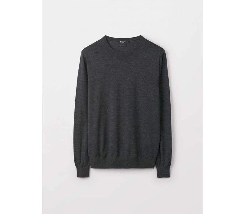 Matias Fine Italian Wool Knit Street Grey