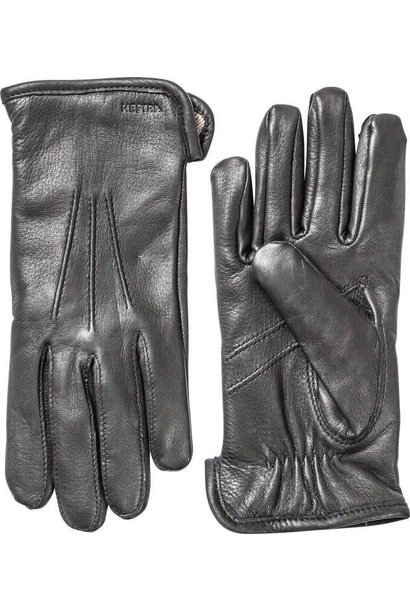 Andrew Deerskin Black Leather