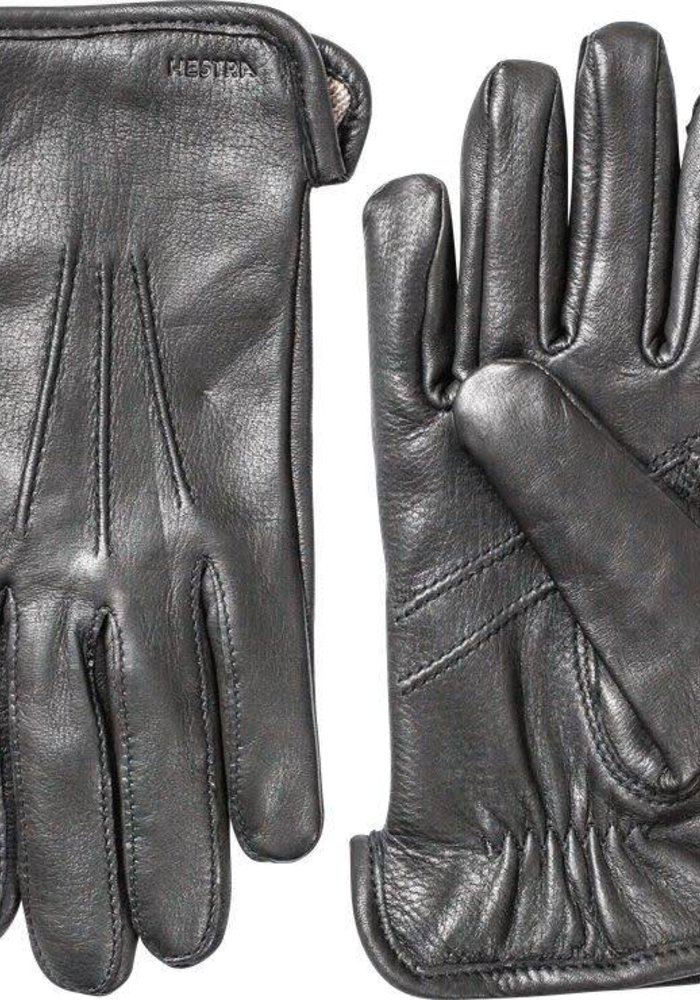 Andrew Gloves Deerskin Black Leather